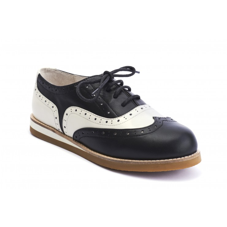 Cecilia - Wingtip Black