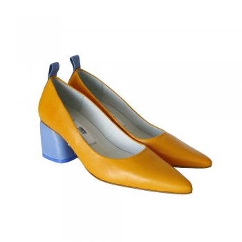 PIA CORNFLOWER MANDARIN [YELLOW + BLUE]