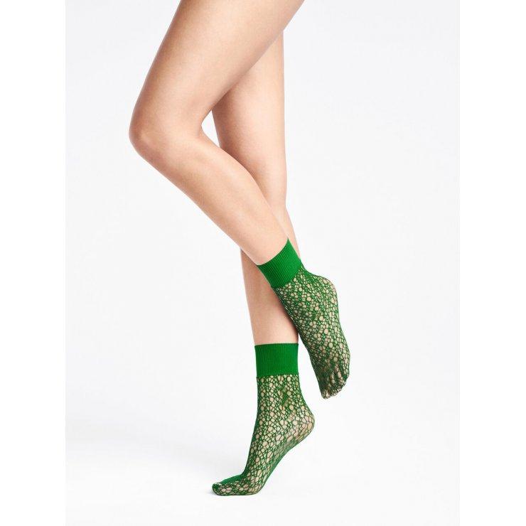 Micro Fish Scale - Socks [Poison Green]