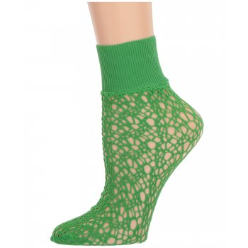 Micro Fish Scale - Socks [Poison Green]