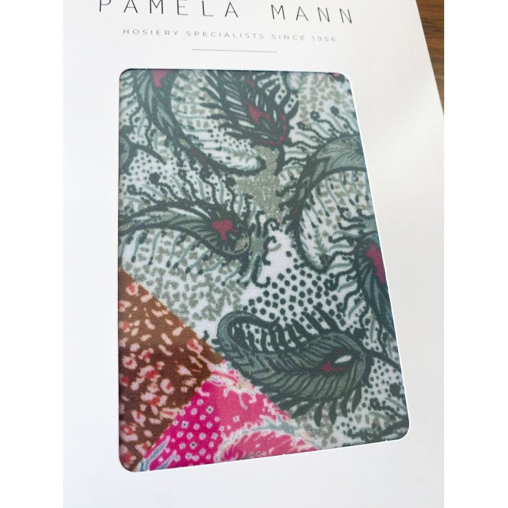 Paisley Patchwork Printed Tights