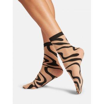 Thalia Socks [Fairly Light + Black]